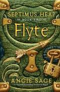 Cover of green locked book titled Flyte with Gold of Embelishments