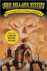 "An orange and black cover featuring a tomb with two boys entering. Over the tomb is an orange cloud in the shape of a skull. A sticker reads, ""Soon to be a Major Motion Picture."""