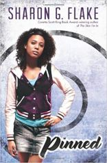 A black girl in a purple lettermen jacket and denim skirt stands on the cover.