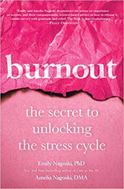 """Burnout"" Pink Cover with ripped page"
