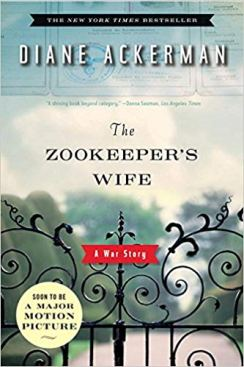 """""""The Zookeepers Wife"""" a gate to a zoo with the sky in the background."""