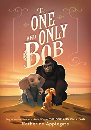 A red sunset frames a large Gorilla, a baby elephant, and a small dog sitting together. All three look happy and kind.